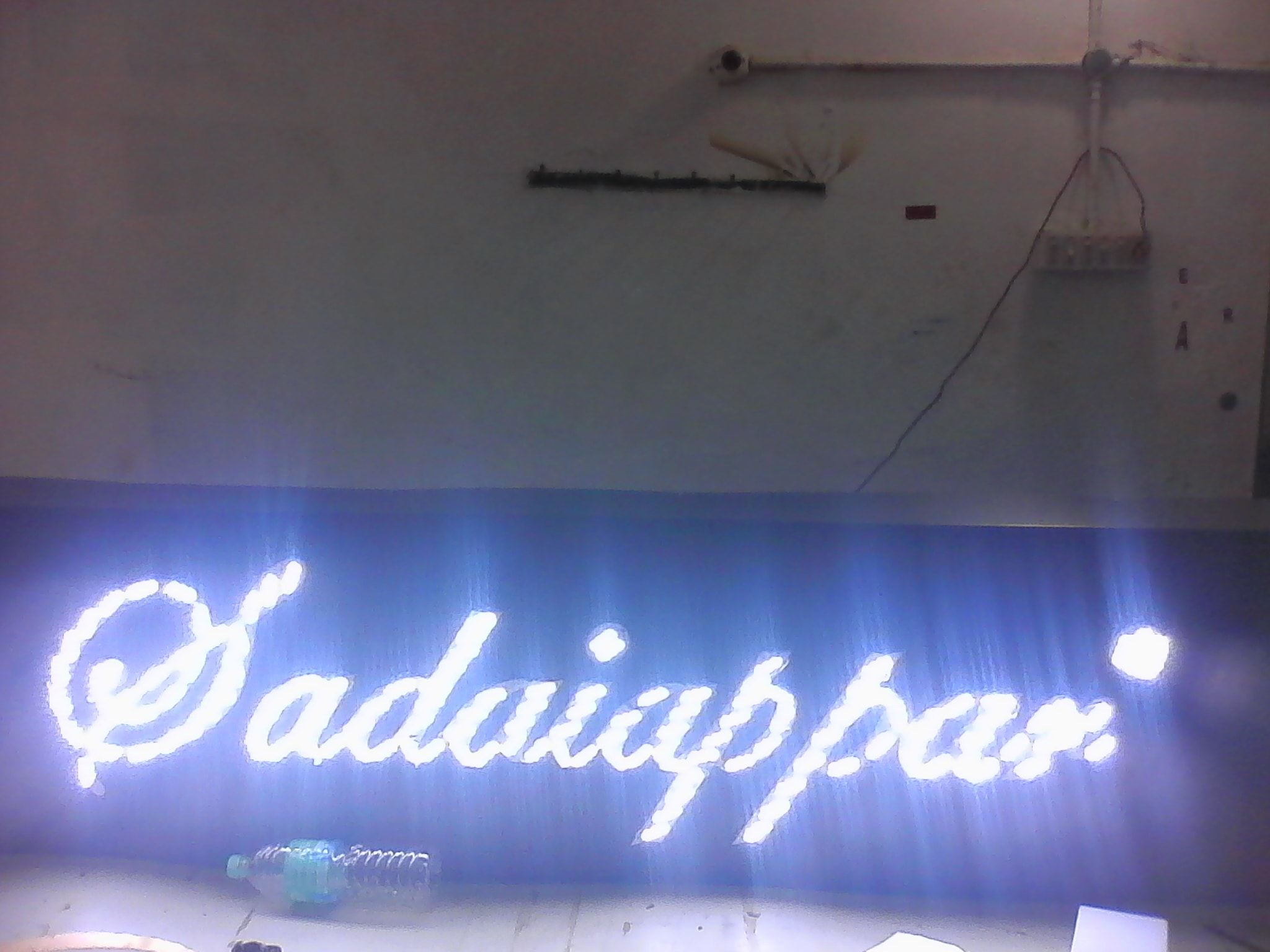 front lit name board making company in chennai